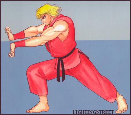 Street Fighter II complete file bonus art