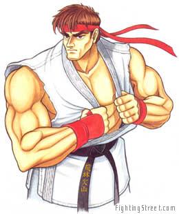 Street Fighter Ii Upper Body