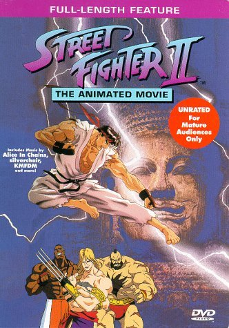 Anime Cartoon And Action Movies Of Street Fighter Trailers