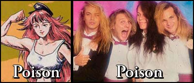 Poison and the band Poison